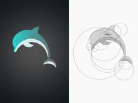 Dolphin Logo Icon