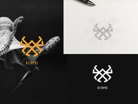 Abstract Octopus Logo Concept