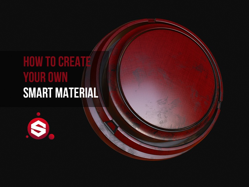 How to Create a Custom Smart Material in Substance Painter