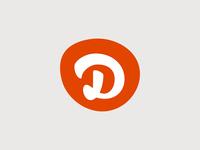 """""""D"""" Blot logo"""