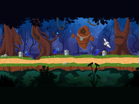 Background for online game
