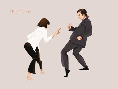 Pulp Fiction illustration