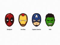 Marvel Head portrait