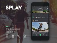 The skateboard social APP