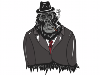Processing Monkey Business Characte Cr
