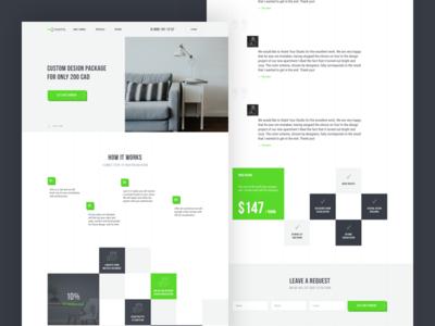 Rerooms website webdesign uiux ux ui design