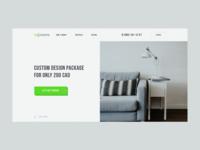 Rerooms promo designer uxdesign uidesign landing webdesign ux ui