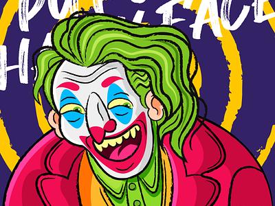Joker batman photoshop character design adobe illustration illustrator joker movie joker