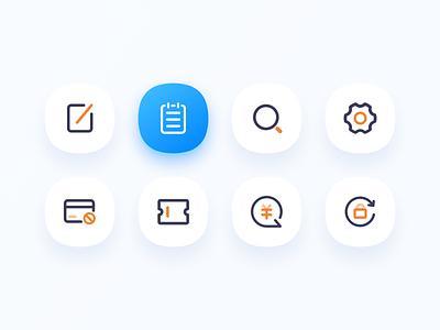 ICONS invitation icons ui