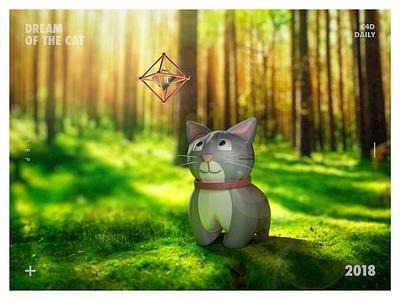 Dream Of The Cat c4d