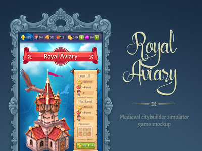 Royal Aviary [game mockup]