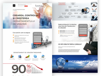 Landing Page for business consulting company