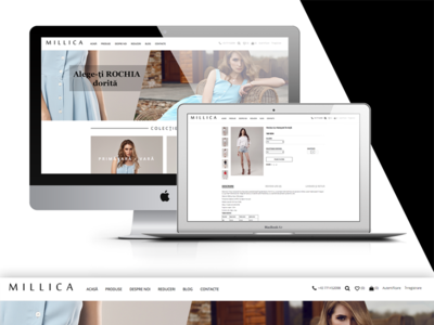 MILLICA WebSite_Online shop