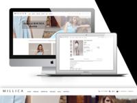MILLICA WebSite_Online shop