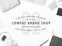 Compas Brand Badge