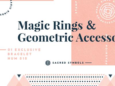 Geometric branding badge logo template vintage modern retro typography creative market eye grids logo geometric branding