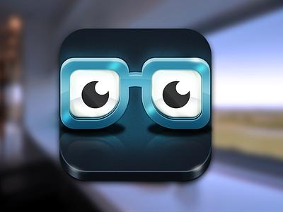 Smart icon ios app photoshop icon smart glasses