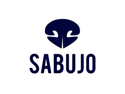 Sabujo logo monocromatic simple minimalist