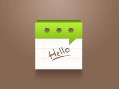 Sms sms icon iphone ios ipad hello
