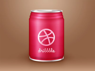 Dribbble Drinks bottle ui icon drink metal