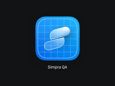 Simpra App Icon app icon logo app icon application iphone minimal logo icon design app ios ui