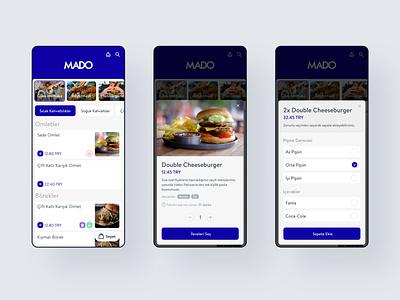 QR Menu + Order site mobile design web ui payment order qr menu menu qr