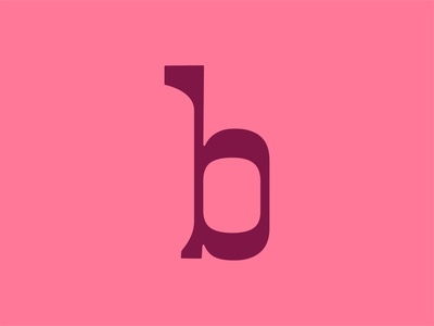 36 Days of Type: B b 36 days of type custom type type typography color vector design