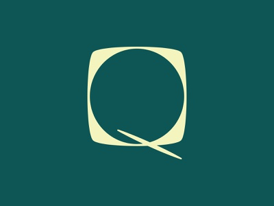 36 Days of Type: Q type design letters custom type graphic design font design q 36 days of type type typography color vector design