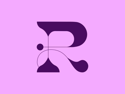 36 Days of Type: R balance weight sexy r letters 36 days of type font design font custom type type typography color vector design
