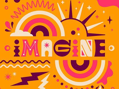 Adobe: Illustrator Artwork symbolic abstract type design custom type graphic design creative cloud software illustrator create whimsical playful adobe illustration icon type typography color vector design