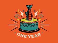 Trout Design Co. First Birthday!