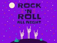 Halloween 2018: Rock 'N Roll All Night