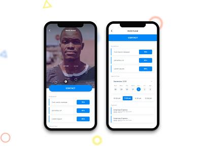 Car app interface ux ui minimal project sketch design car app app