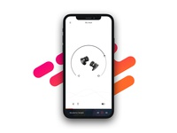 Headphone app home