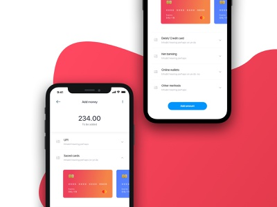 GymPay payment app ux interface ui minimal project sketch design