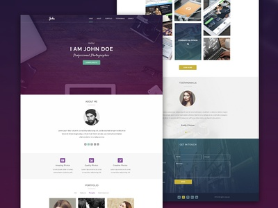 Maker - Personal Template For Creative Professionals