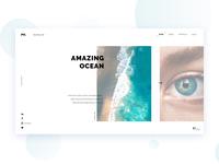 Photography Website #4 modern web design photography simple creative website clean light flat portfolio minimal