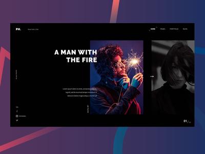 Photography Website #6