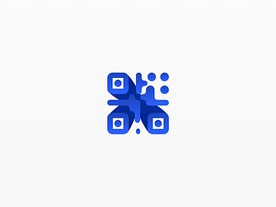 Logo For Scandoit #1 business company scanning scan barcode code qr idendity branding brand logotype logo