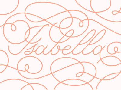 Calligraphy Name monoline flourish name calligraphy