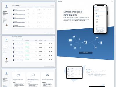 HookFyi website application design application ui ux ui website design