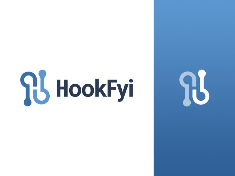 HookFyi logo branding logomark logo