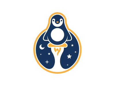 Pennell Elementary Talent Show 2020 Elements rocket stars talent show gold mission patch space fun blue logo penguin