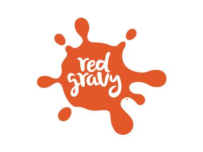 Italian Restaurant Logo Alternate fun mark splat italian gravy red green tomato icon logo