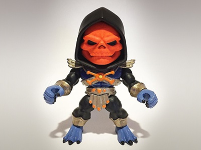 Custom Loyal Subjects Skeletor aka Disco Skeletor