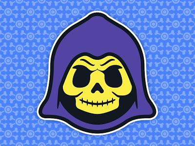Little Skeletor: Toddler of Destruction - Cartoon Edition toys toddler skull skeletor culture pop universe the of masters illustration 80s
