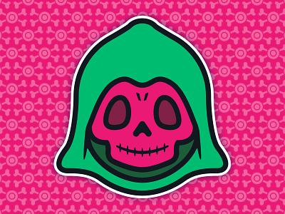 Little Skeletor: Toddler of Destruction - Test Shot Edition toys toddler skull skeletor culture pop universe the of masters illustration 0s