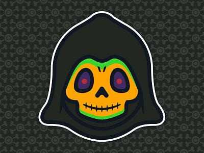 Little Skeletor: Toddler of Destruction - Disco Edition toys toddler skull skeletor culture pop universe the of masters illustration 80s