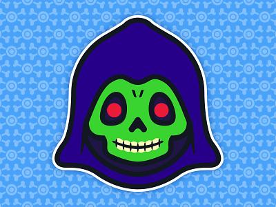 Little Skeletor: Toddler of Destruction - Acala Edition universe toys toddler the skull skeletor pop of masters illustration culture 80s