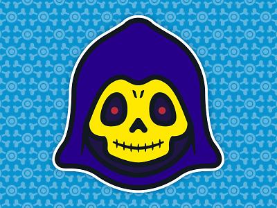 Little Skeletor: Toddler of Destruction - Comic Edition universe toys toddler the skull skeletor pop of masters illustration culture 80s